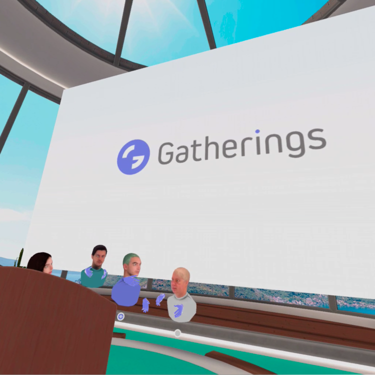 Unveiling Gatherings' latest features at a leading Events Industry Recovery Forum