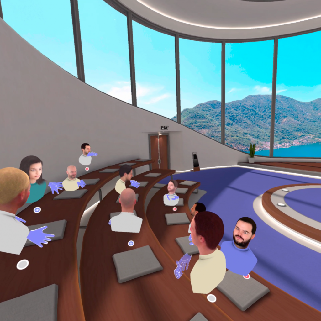 A look at our different VR spaces for your next event